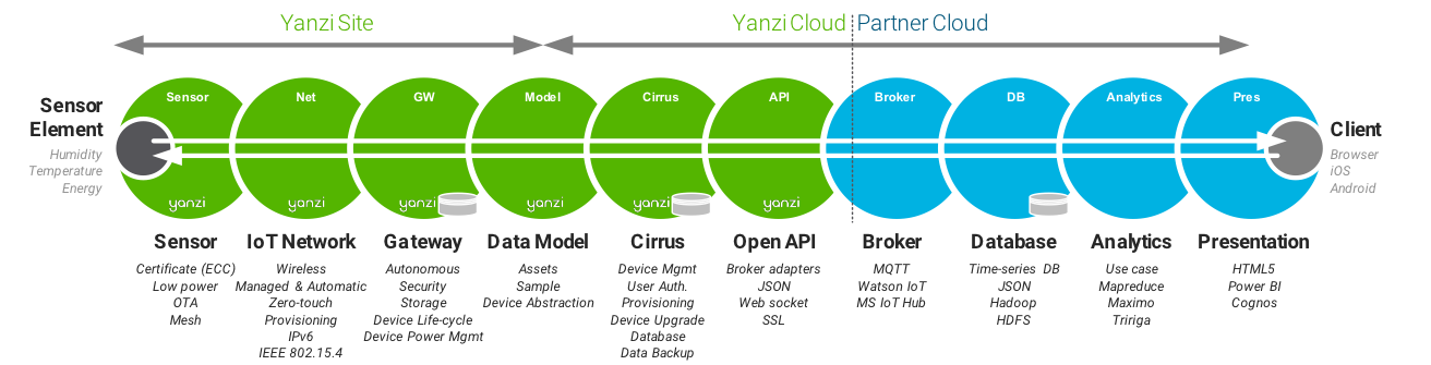 The Yanzi solution chain